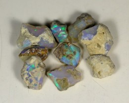 38.5Cts Ethiopian Welo Rough Opal Parcel Lot