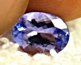 1.85 Carat VVS Blue African Tanzanite - Gorgeous