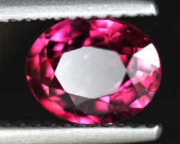 UNHEATED CERTIFIED 1.57CT NATURAL PINKISH RED RUBY