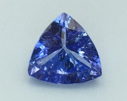 1.10 Cts Tanzanite Faceted Gemstone Awesome Color & Cut ~ Pv.4