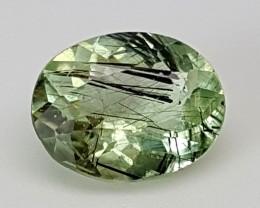 1.45Crt Rutile Peridot  Best Grade Gemstones JI15