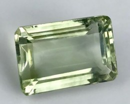 16.52 ct. Natural Green Amethyst.  No reserve price. 10 $ start.