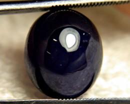 12.59 Carat Midnight Blue Sapphire Cabochon - Gorgeous