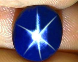 5.50 Carat Thailand Blue Star Sapphire - Gorgeous