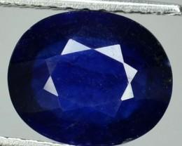 2.93 Cts Natural Blue Sapphire Oval Cut Thailand Gem