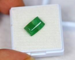 4.36ct Natural Zambia Emerald Cabochon Lot V2021