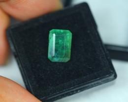 3.73ct Natural Zambia Emerald Lot GW2099