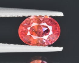 Natural Padparadscha Sapphire 1.12 Cts from Mozambique