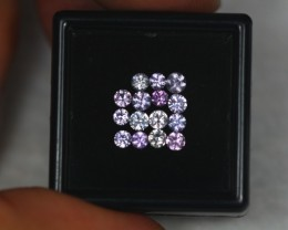 1.54ct Natural Pink Sapphire Round Cut Lot V2059