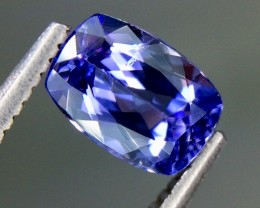 1.02 Crt Natural Tanzanite Beautifulest Faceted Gemstone (AG 38)