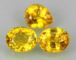 1.35 CTS EXCELLENT NATURAL ULTRA RARE FANCY -YELLOW-MADAGASCAR SAPPHIRE