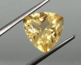 2.97 Carat VVS Citrine - Trillion Beauty  !