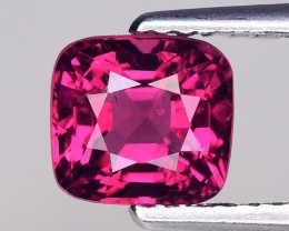 1.46 Cts Untreated Red Spinel Excellent Color ~ Burma 8