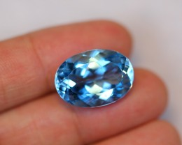 14.66carats VS Clarity Swiss Blue Color Topaz