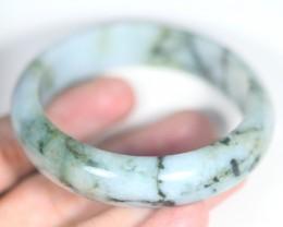 Jadeite Jade Bangle Bracelet 290ct. 55.7mm