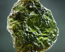 Moldavite with Olive green color