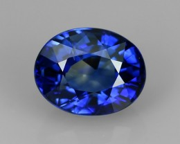 CERTIFED-1.10 CTS EXCELLENT NATURAL ULTRA RARE SRILANKAN-BLUE SAPPHIRE NR!!