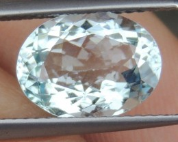 2.64cts Aquamarine,   Clean,   Untreated