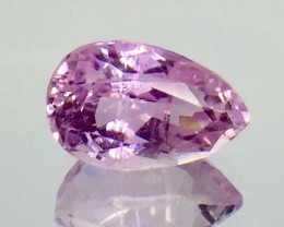 7.85 Crt Natural Kunzite Faceted Gemstone (AG 39)