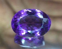 16.65 Cts Amethyst Awesome Color & Luster Gemstone ~ Pv.4