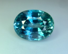 4.40 Cts Blue Zircon Awesome Color ~ Cambodia Pv.4