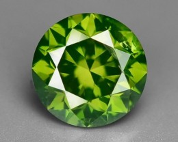 0.52 CT  FANCY INTENSE LIME GREEN DAIMOND BORNEO MINE GD8