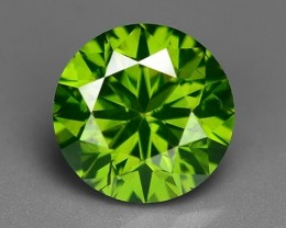 0.50 CT  FANCY INTENSE LIME GREEN DAIMOND BORNEO MINE GD9