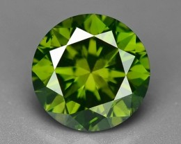 0.47 CT FANCY INTENSE LIME GREEN DAIMOND BORNEO MINE GD17