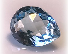 Sky Blue Topaz VVS Gem for setting no reserve Extreme luster