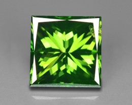 0.57 CT  FANCY INTENSE LIME GREEN DAIMOND BORNEO MINE GD3