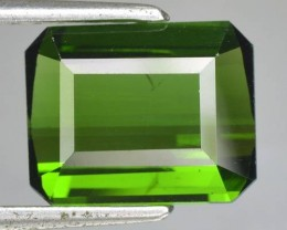 3.74 Cts Natural Neon Green Tourmaline Octagon Cut Nigeria