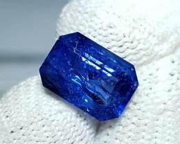 CERTIFIED 3.20 CTS NATURAL BEAUTIFUL ROYAL BLUE SAPPHIRE SRI LANKA