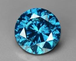 0.56 CT DAIMOND SPARKLING BLUE COLOR BD2