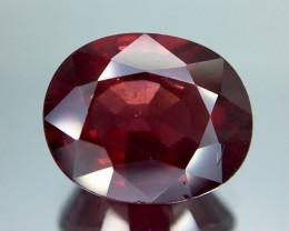 3.95 Crt Rhodolite Garnet Faceted Gemstone (R 10)