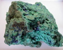 Azurte with Malachite display specimen 810 grams