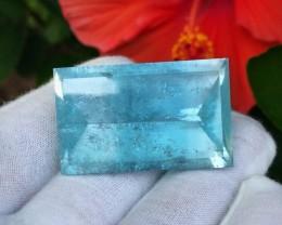 151.25 cts Blue Topaz - Minas Gerais, Brazil - No irradiation!!