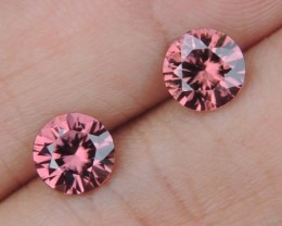 2.90cts Pink Zircon,  Top Cut,  Clean,  Unheated