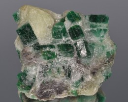 Natural Emerald Cluster 565 Carats from Swat, Pakistan