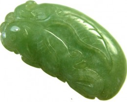 JADE CARVING 76 CTS [MX1207]