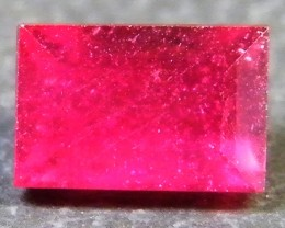 F/S CRYSTAL CLEAR VS GRADE SPARKLING REDRUBY 1.35 CTS RM 293