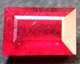 CRYSTAL CLEAR VS GRADE SPARKLING RED RUBY 1.40 CTS RM 299