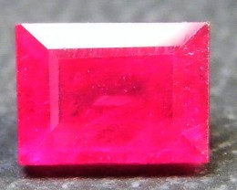 F/S CRYSTAL CLEAR VS GRADE SPARKLING REDRUBY 1.45 CTS RM 300
