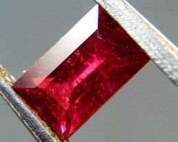 CRYSTAL CLEAR VS GRADE SPARKLING RED RUBY 0.90 CTS RM 304