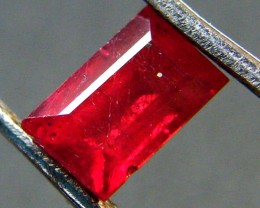 F/S CRYSTAL CLEAR VS GRADE SPARKLING REDRUBY 1.15 CTS RM 312
