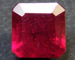 CRYSTAL CLEAR VS GRADE SPARKLING RED RUBY 1.90 CTS RM 316