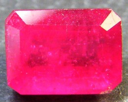 CRYSTAL CLEAR VS GRADE SPARKLING RED RUBY 1.90 CTS RM 317
