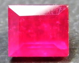 CRYSTAL CLEAR VS GRADE SPARKLING RED RUBY 1.90 CTS RM 345