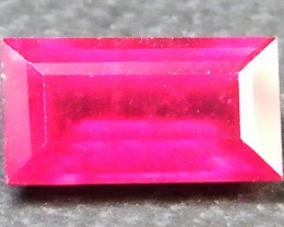 F/S CRYSTAL CLEAR VS GRADE SPARKLING REDRUBY 1.60 CTS RM 355