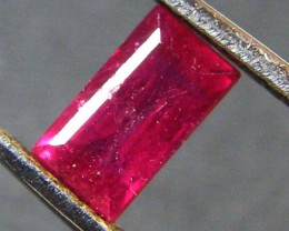 F/S CRYSTAL CLEAR VS GRADE SPARKLING REDRUBY 1.10 CTS RM 356