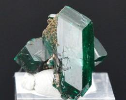 Dioptase 6 grams - Tantara Mine, Shinkolobwe, Kambove District, Congo